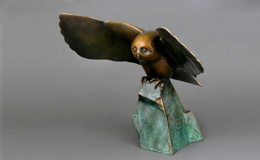 """""""Settling Owl"""""""