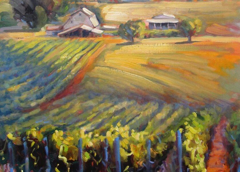 """Oregon Pinot"" © Hazel Schlesinger"