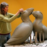 Georgia Gerber – Tufted Puffins in Clay 2018