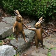 Step Rabbits by Georgia Gerber